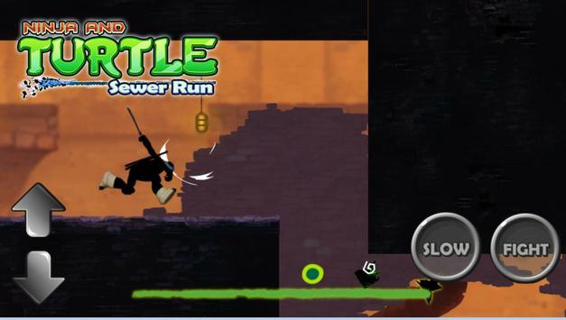 Turtles Shadow Ninja Sewer Run poster