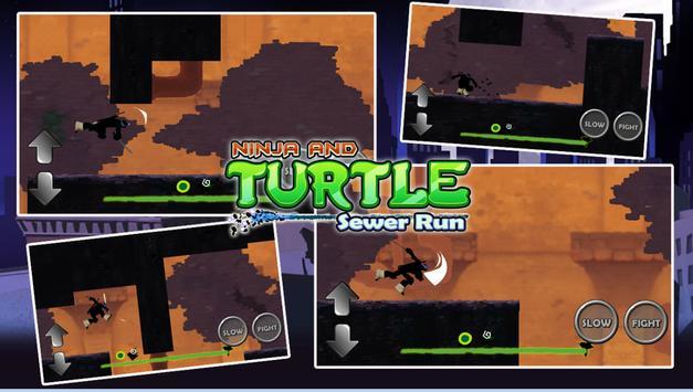 Turtles Shadow Ninja Sewer Run screenshot 2