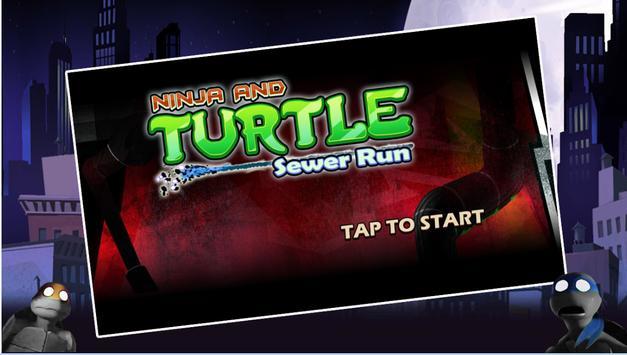 Turtles Shadow Ninja Sewer Run screenshot 3