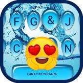 Sea Water Wave  Theme&Emoji Keyboard icon