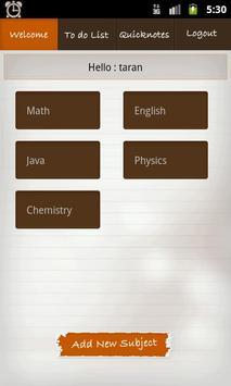Class Notes screenshot 2