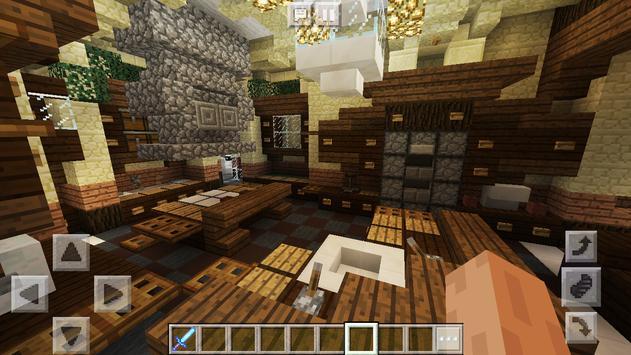 New Wonderful Mansion. Map for MCPE apk screenshot