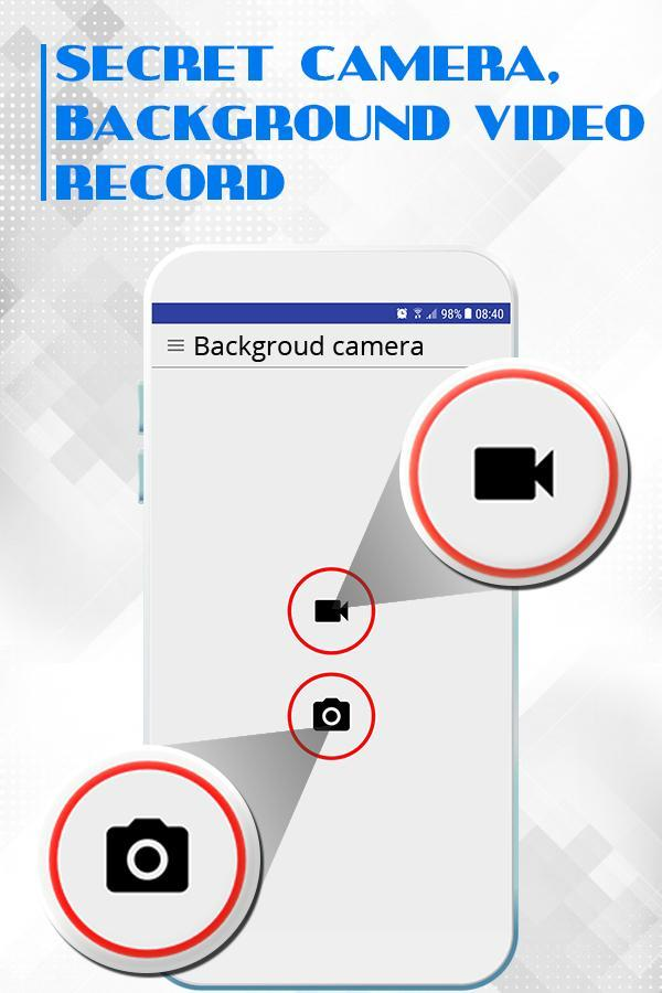 Secret Video Recorder, Background camera for Android - APK