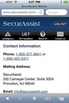 SecurAssist Mobile screenshot 4