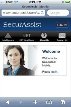 SecurAssist Mobile poster