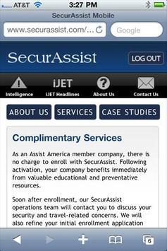 SecurAssist Mobile screenshot 3