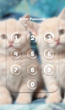 App Lock Theme - Cat apk screenshot
