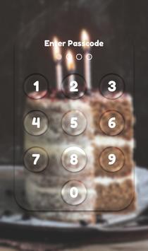App Lock Theme - Cake apk screenshot