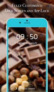 App Lock Theme - Chocolate apk screenshot