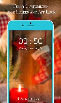App Lock Theme - Christmas screenshot 3