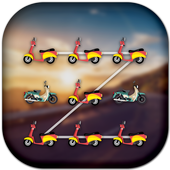 App Lock Theme - Bike icon