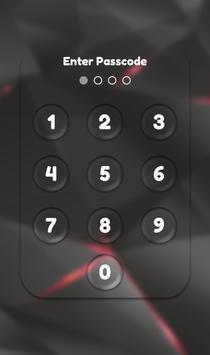 App Lock Theme - Black apk screenshot