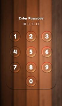 App Lock Theme - Brown screenshot 1