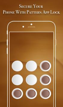 App Lock Theme - Brown screenshot 2