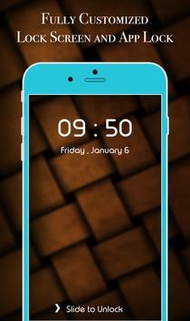 App Lock Theme - Brown screenshot 3