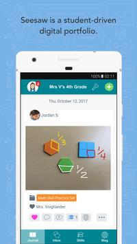 Seesaw: The Learning Journal 海报