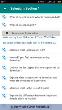 Selenium Testing Interview for Android - APK Download