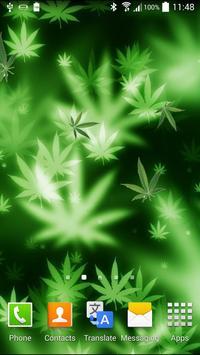Marijuana Live Wallpaper poster