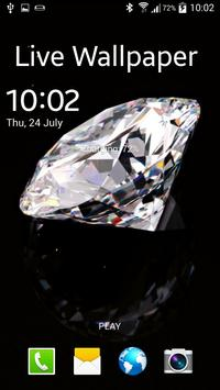 Diamond Live Wallpaper apk screenshot