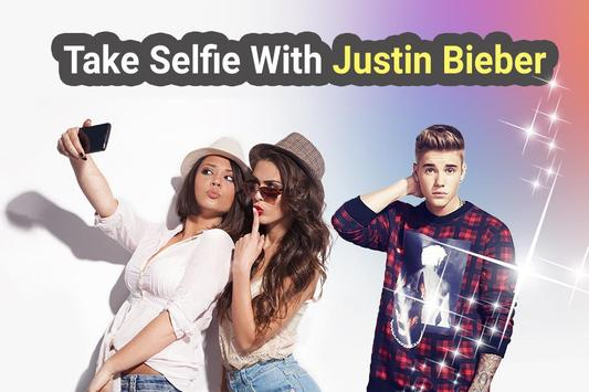 Selfie With Justin Bieber poster