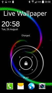 Spiral Live Wallpaper apk screenshot