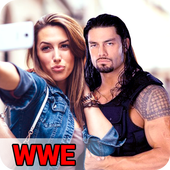 Selfie With Roman Reigns & All WWE Wrestler icon