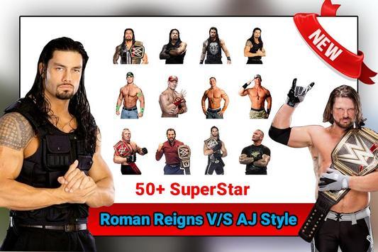 Selfie With Roman Reigns & All WWE Wrestler screenshot 1