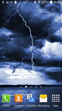 Storm Live Wallpaper poster