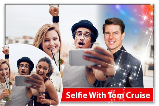 Selfie With Tom Cruise - Hollywood Rockstar apk screenshot