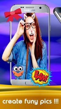 Free selfie camera editor, effect, emoji PRO screenshot 3