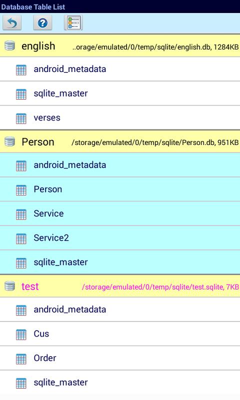 Blob type sqlite android query