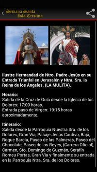 Semana Santa Isla Cristina poster