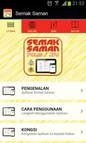 Semak Saman For Android Apk Download