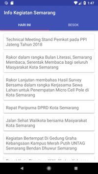 Kegiatan Kota Semarang poster