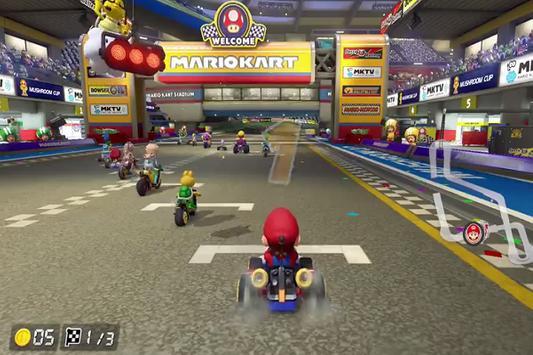 Cheat Mario Kart 8 poster