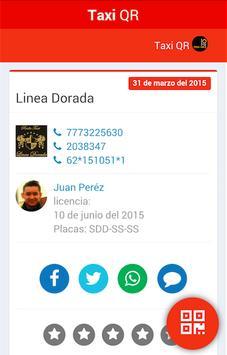 TaxiQr apk screenshot