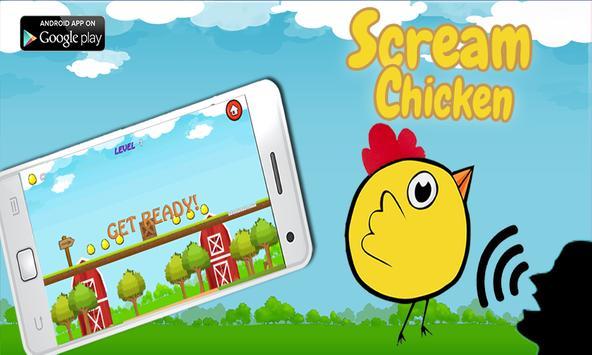 Chicken Scream - the Game poster