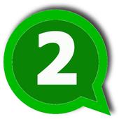 Dual Whatsapp icon