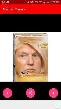 Trump Memes y Pared poster
