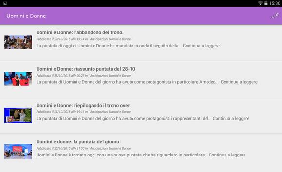Uomini e Donne screenshot 3