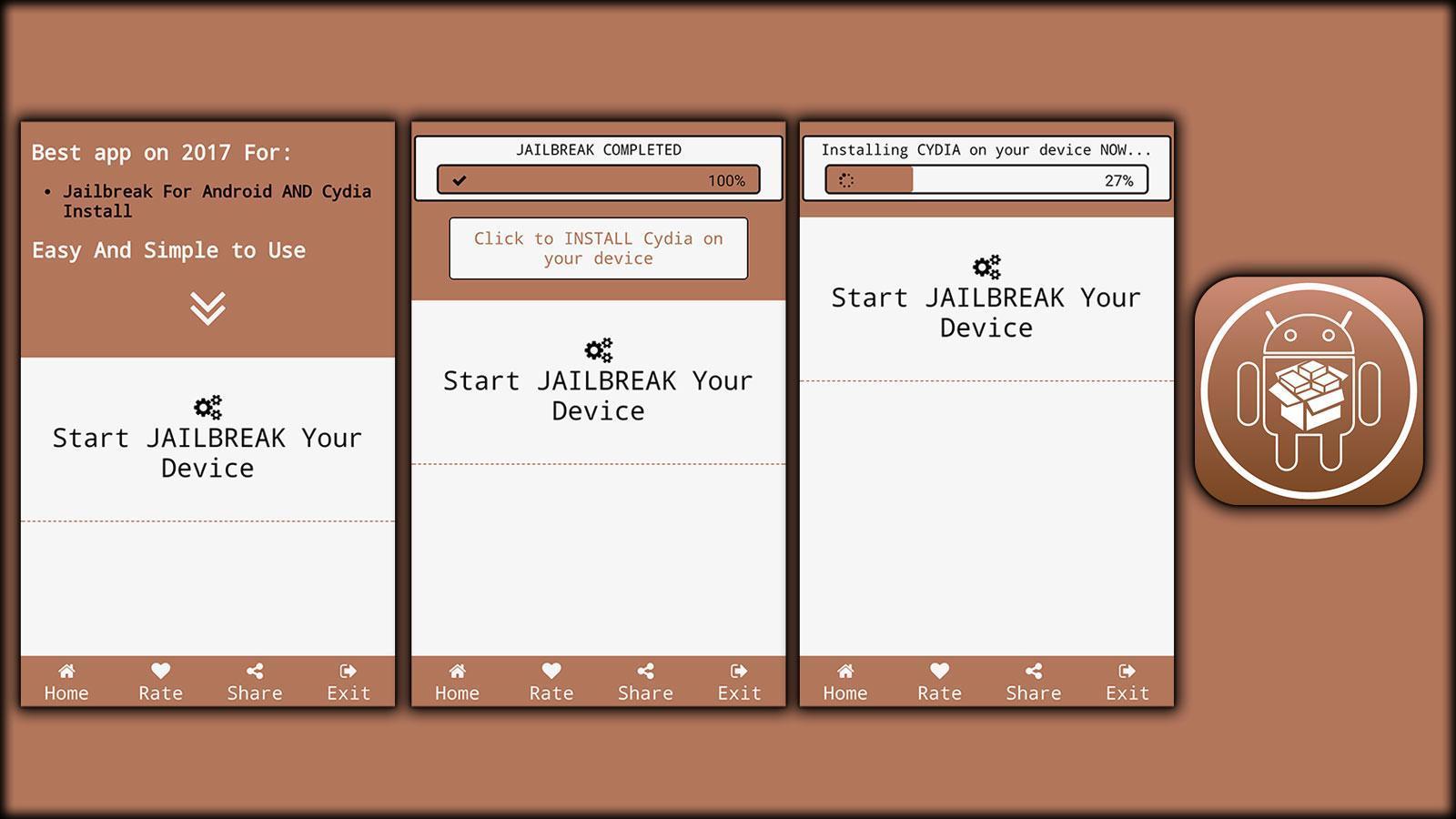 Cydia Pro Jailbreak App For Joke - Prank for Android - APK