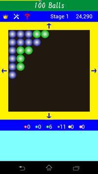 100個のボール(Same Game) apk screenshot