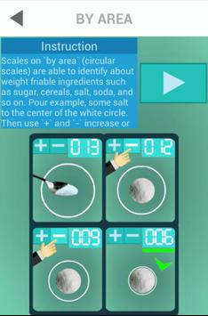 Scales. Meter weight simulator screenshot 2
