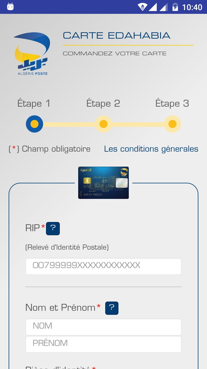 Carte Or Algerie Poste.Algerie Poste For Android Apk Download