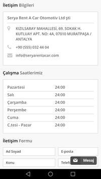Antalya Rent A Car screenshot 7