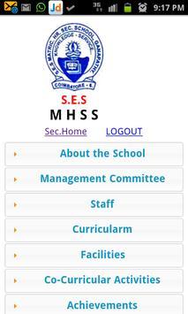 SES Matriculation HS School poster