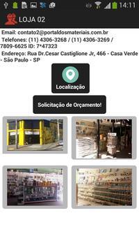 Portal dos Materiais screenshot 2
