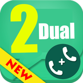 Tips for dual 2 account for WhatsApp icon