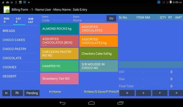 Billing & Inventory App apk screenshot