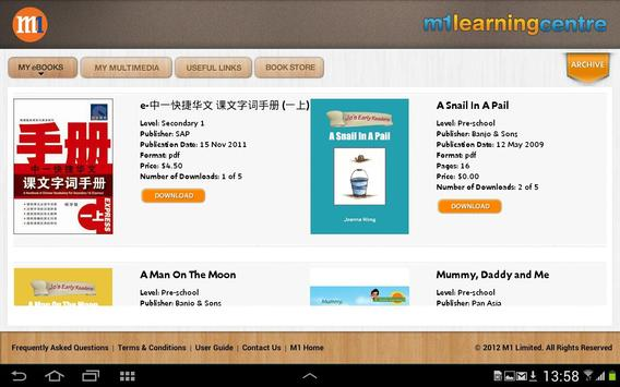 M1 Learning Centre screenshot 1